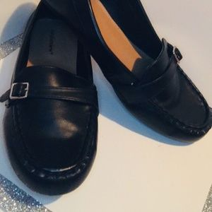 10.5W Black Driving Loafers